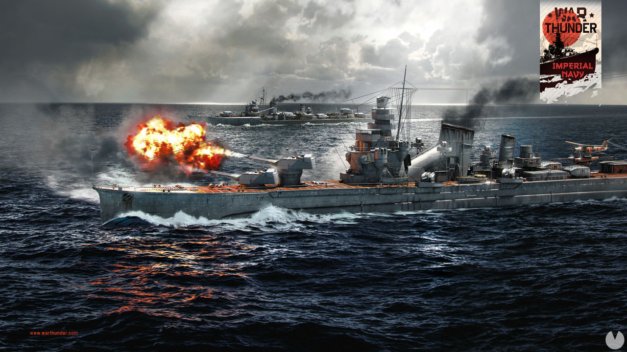 War Thunder is updated with the Imperial Japanese Navy