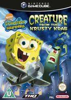 Carátula SpongeBob SquarePants: Creature para GameCube