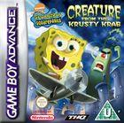 Carátula SpongeBob SquarePants: Creature para Game Boy Advance