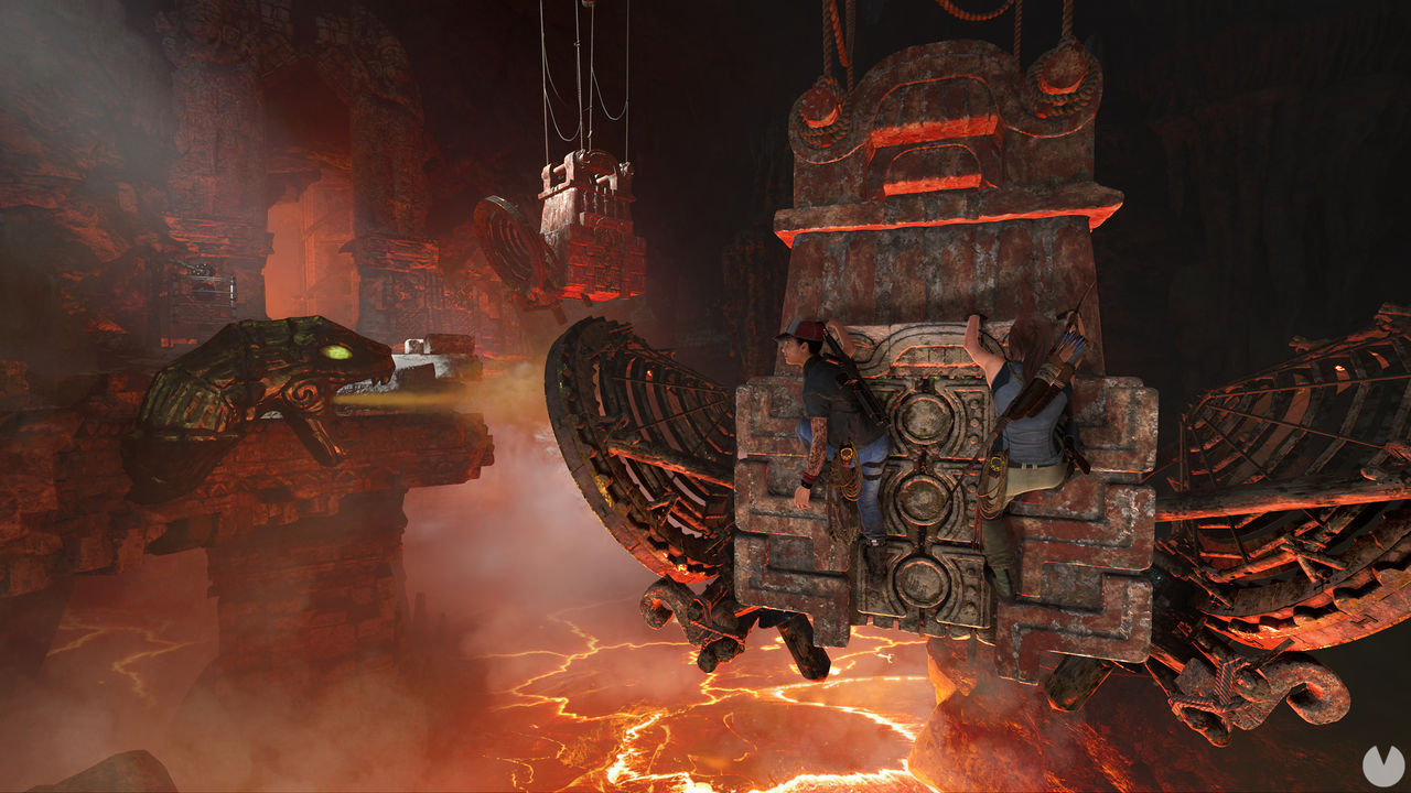 this is The Forge, downloadable content for Shadow of the Tomb Raider