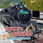 Carátula Japanese Rail Sim 3D Travel of Steam eShop para Nintendo 3DS