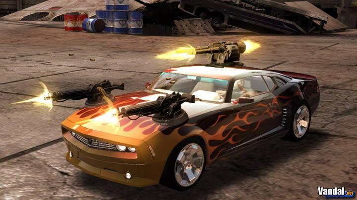 360, SEGA prepara la secuela de Full Auto para PS3. Todo un mundo de