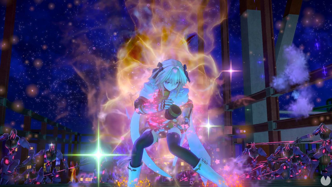 So you play with Fate/EXTELLA Link: show us new characters
