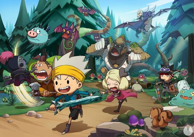 Snack World: The Dungeon Crawl Gold Switch passes the age rating ESRB