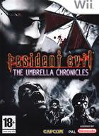 Portada Resident Evil Umbrella Chronicles