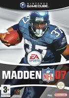 Carátula Madden NFL 07 para GameCube