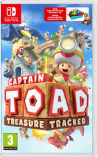 Carátula Captain Toad: Treasure Tracker para Nintendo 3DS