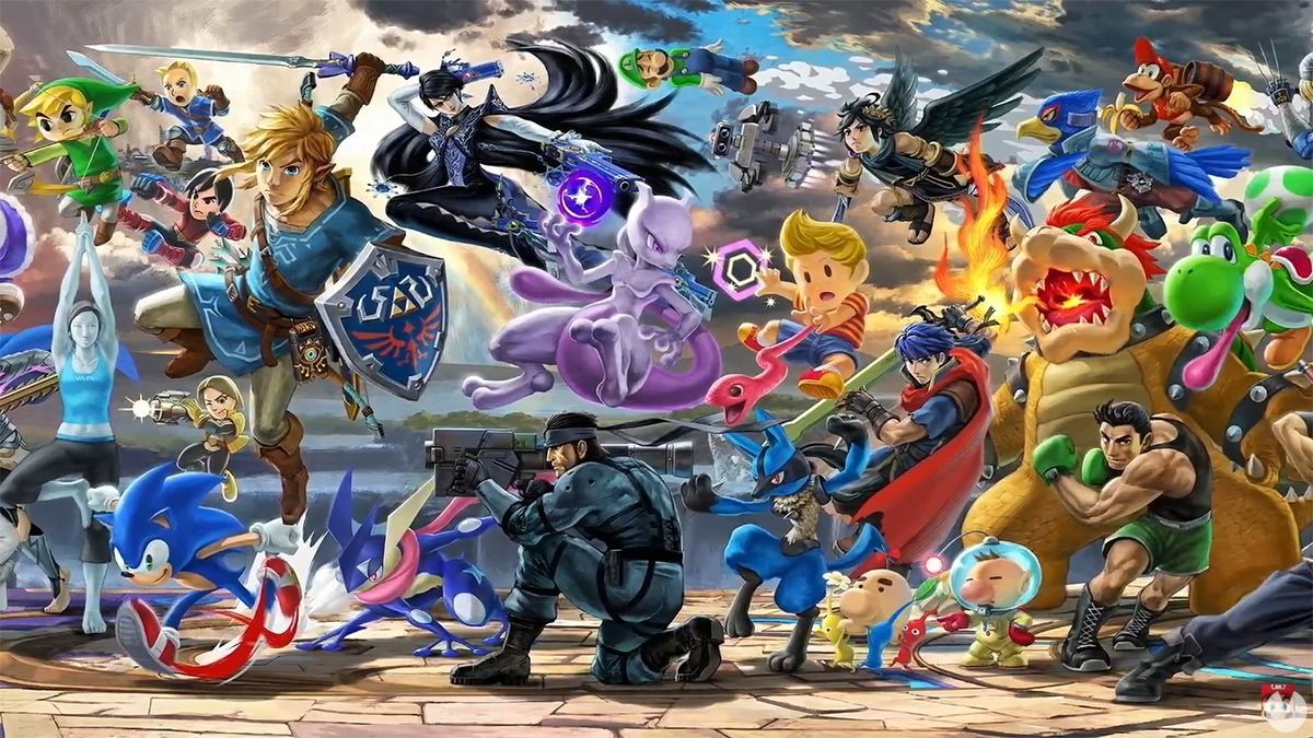 E3 2018: Comparan los gráficos de Super Smash Bros. en Wii U y Switch