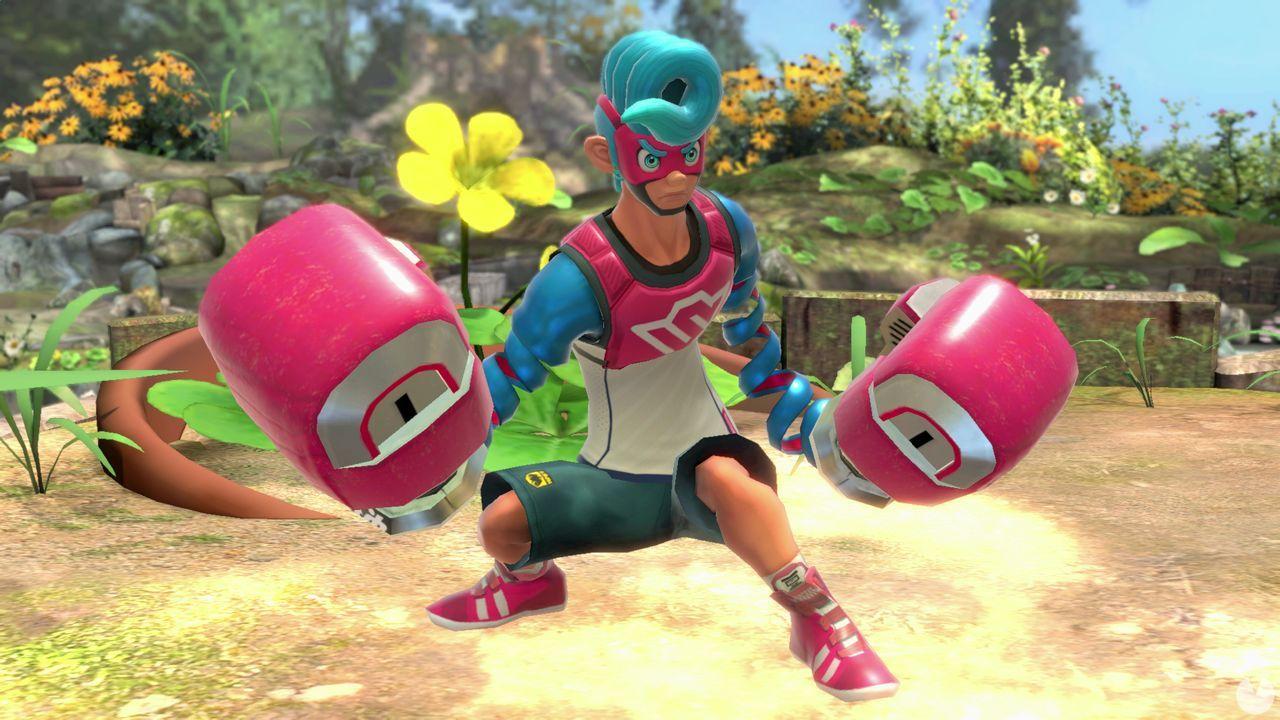 Spring Man en Super Smash BRos. Ultimate