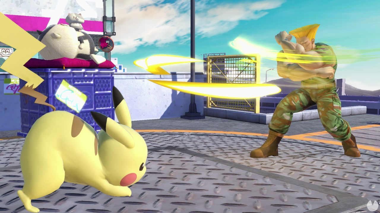Guile en Super Smash Bros. Ultimate