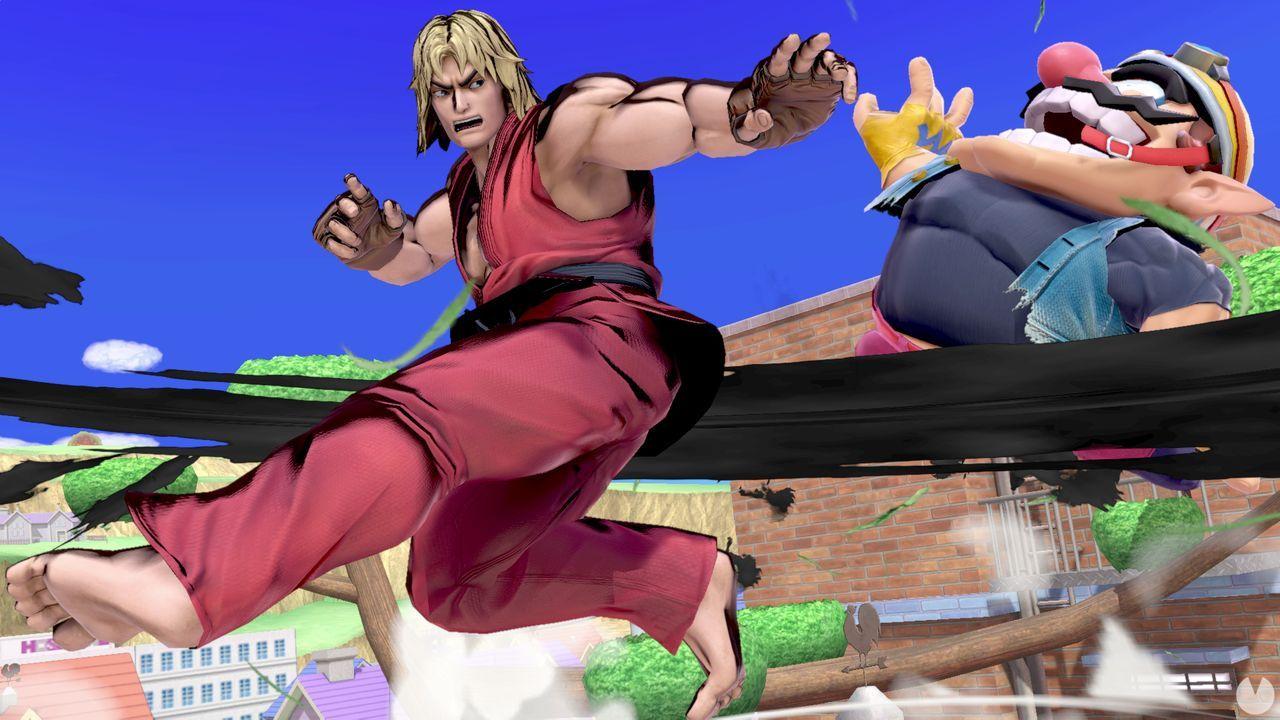 Ken en Super Smash Bros. Ultimate