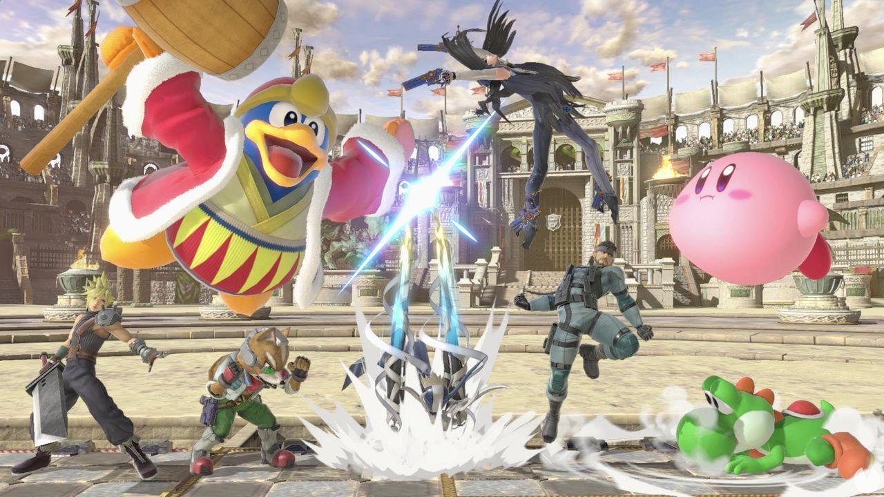 Luchadores antiguos Super Smash Bros. Ultimate