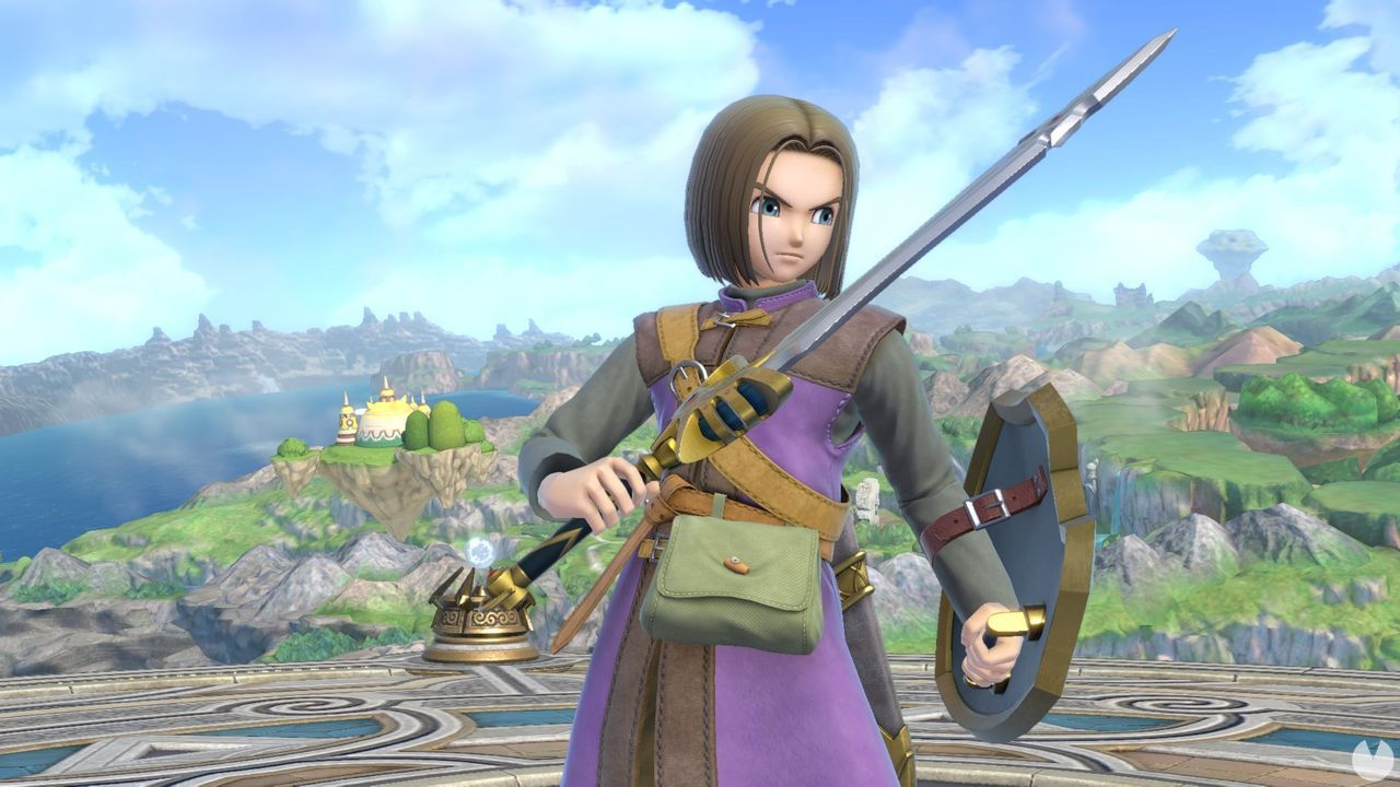 The hero of Dragon Quest would come to Super Smash Bros. Ultimate Wednesday