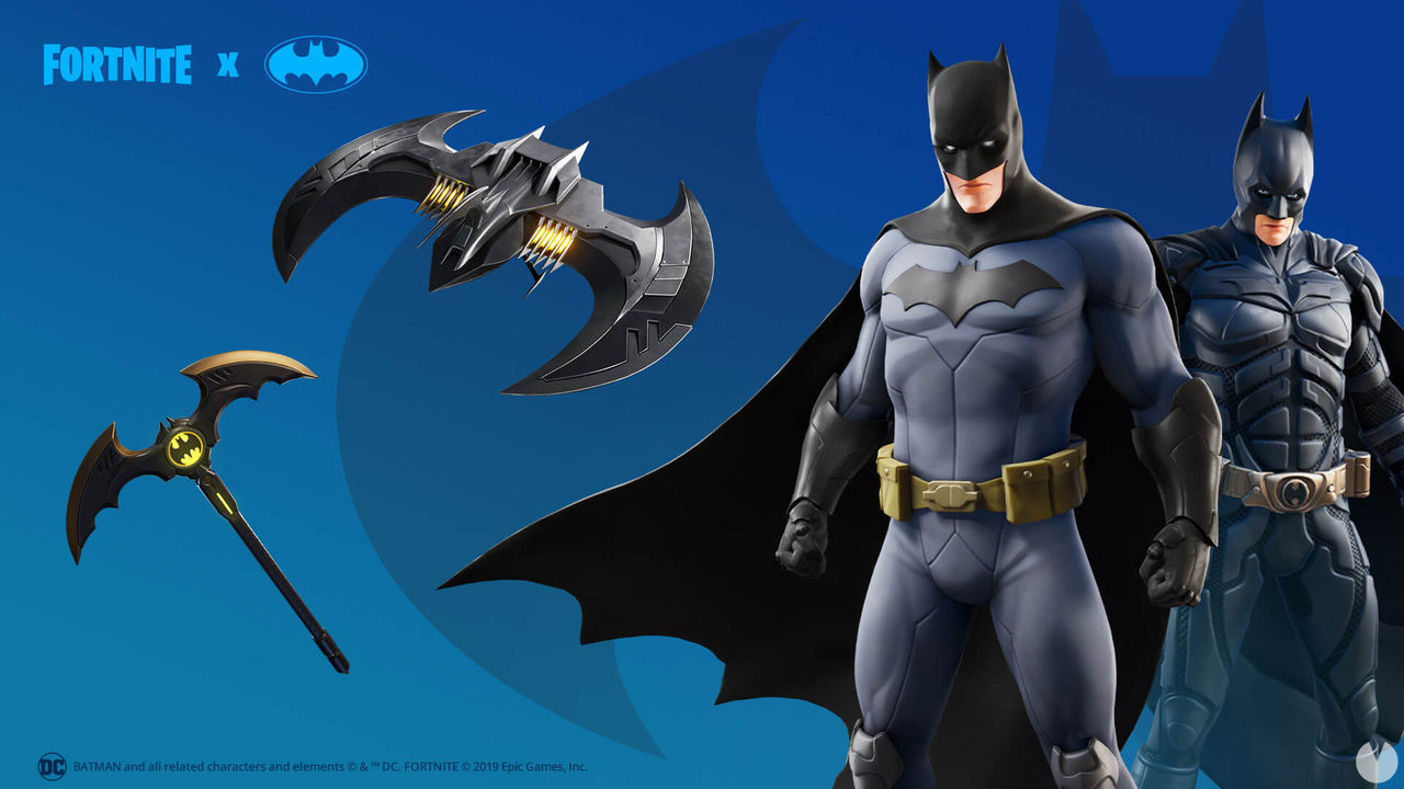 Fortnite: Batman and Gotham City land with a new scenario, costumes and accessories