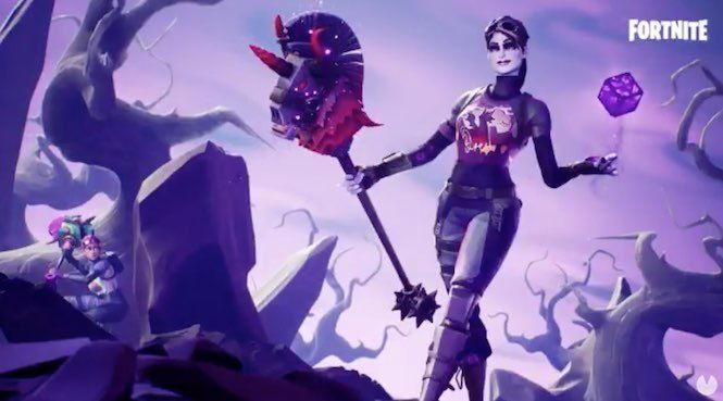 Get the objects of Lightning & Thunderstorms to Fortnite Battle Royale