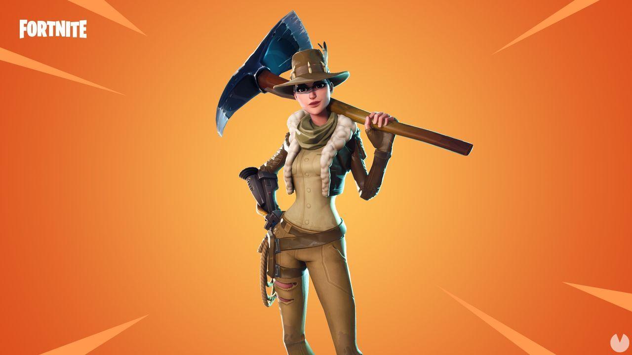 El nuevo skin de Fortnite es todo un guiño a Indiana Jones - Vandal 2edff343573