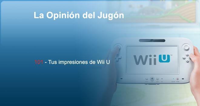 Tus impresiones de Wii U