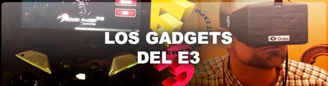 Los gadgets del E3 2013