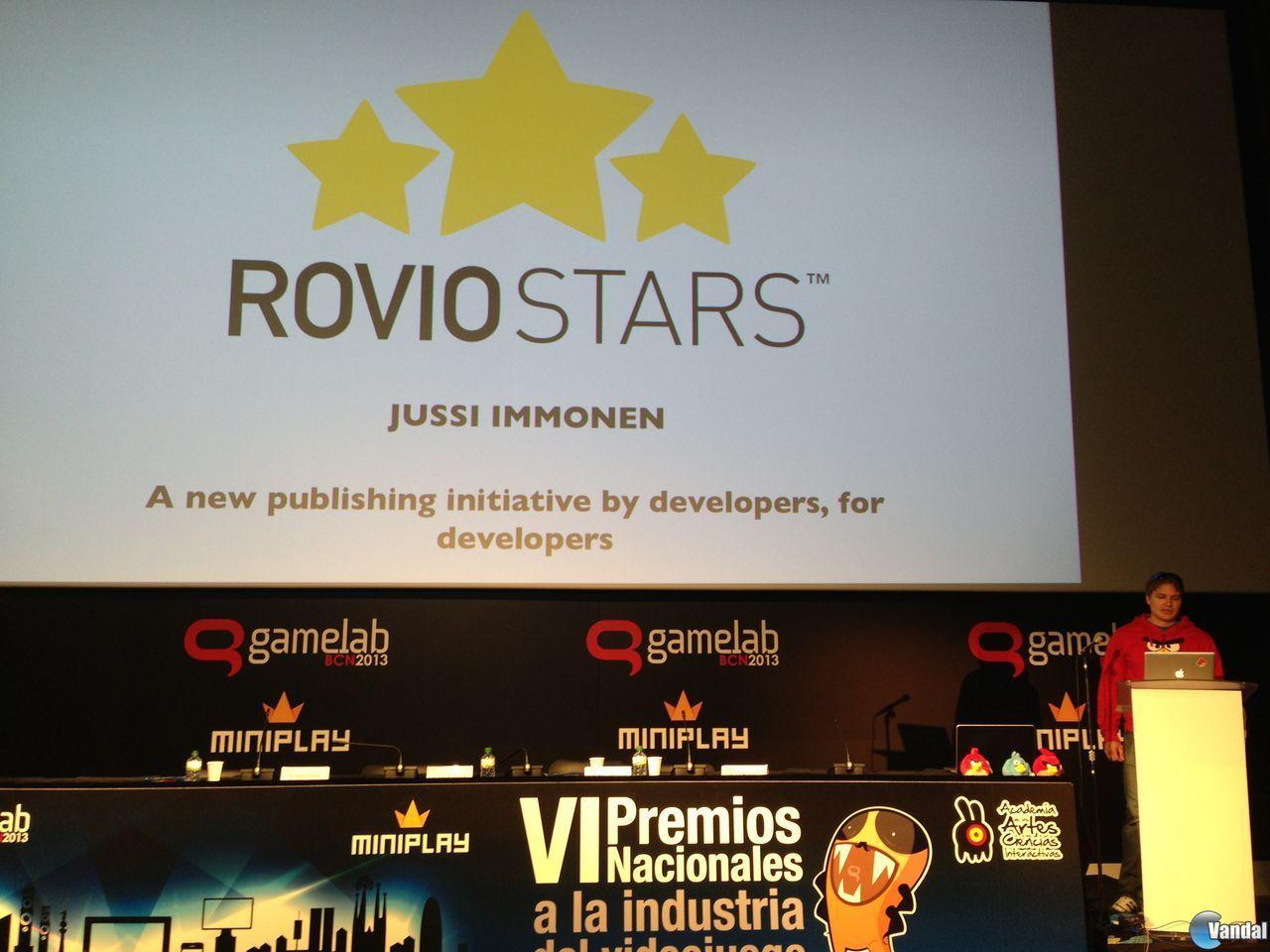 Gamelab: Rovio presenta Rovio Stars, su programa de incubación de juegos
