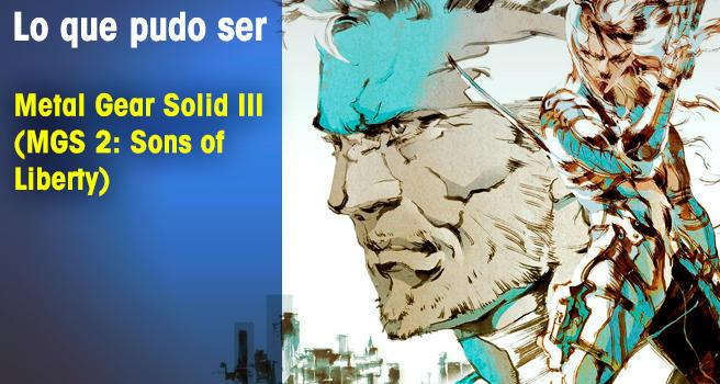Metal Gear Solid III (MGS 2: Sons of Liberty)