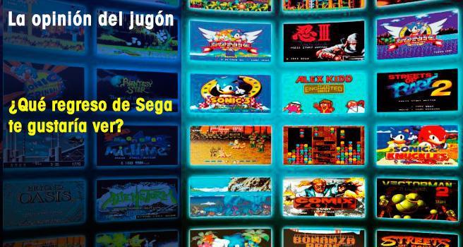 ¿Qué regreso de Sega te gustaría ver?
