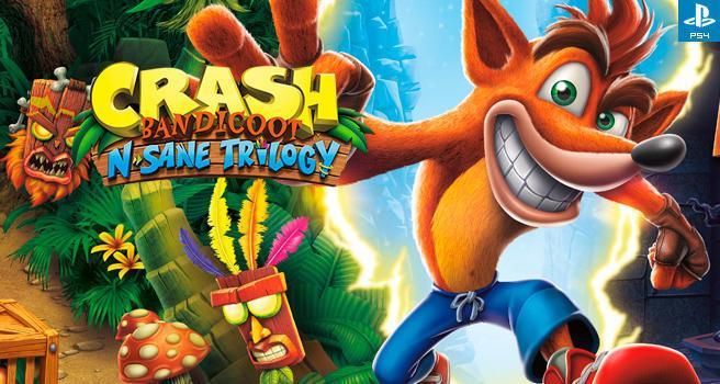 Análisis Crash Bandicoot N  Sane Trilogy - PS4