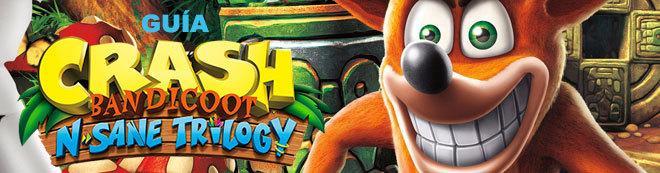 Guía Crash Bandicoot N Sane Trilogy (PS4), trucos y consejos