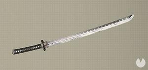 NieR: Automata, Armas, Espadas pequeñas, Fe, Katana