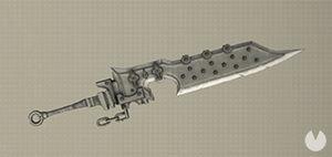 NieR: Automata, Armas, Espadones, Hoja Tipo 3