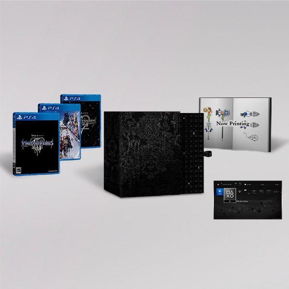 E3 2018: Así es la colección física de Kingdom Hearts 3 que incluye toda la saga
