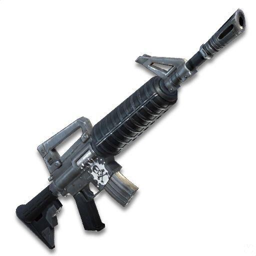 Rifles o fusiles de asalto fortnite