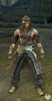 Dark Souls Remastered, Armaduras, Set de bandido