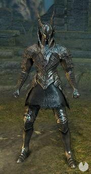 Dark Souls Remastered, Armaduras, Set de Caballero Negro
