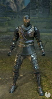 Dark Souls Remastered, Armaduras, Set de Sombra