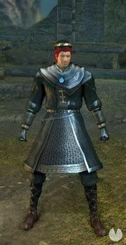Dark Souls Remastered, Armaduras, Set de Hechicero negro