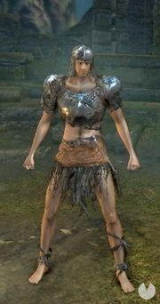 Dark Souls Remastered, Armaduras, Set de soldado Hueco