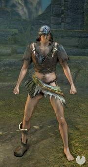 Dark Souls Remastered, Armaduras, Set de guerrero Hueco
