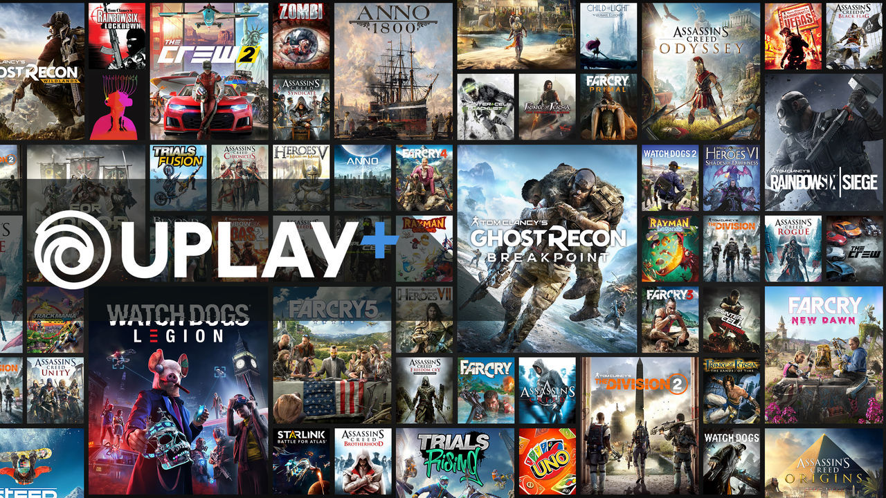 Uplay+ unveils its catalog of games available on PC and debuts trailer