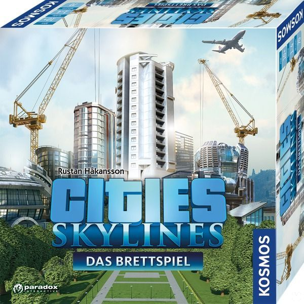 Cities: Skylines will have a board game official