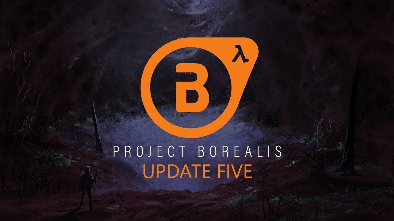Project Borealis, the Half-Life 2 Episode 3 fan, it is re-shown in video