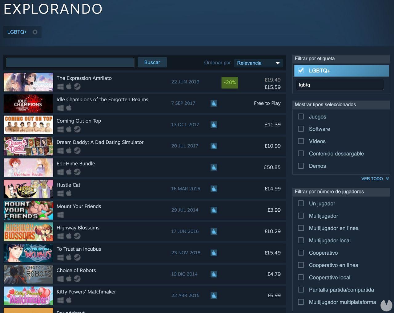 Steam introduces an official label LGTBQ+