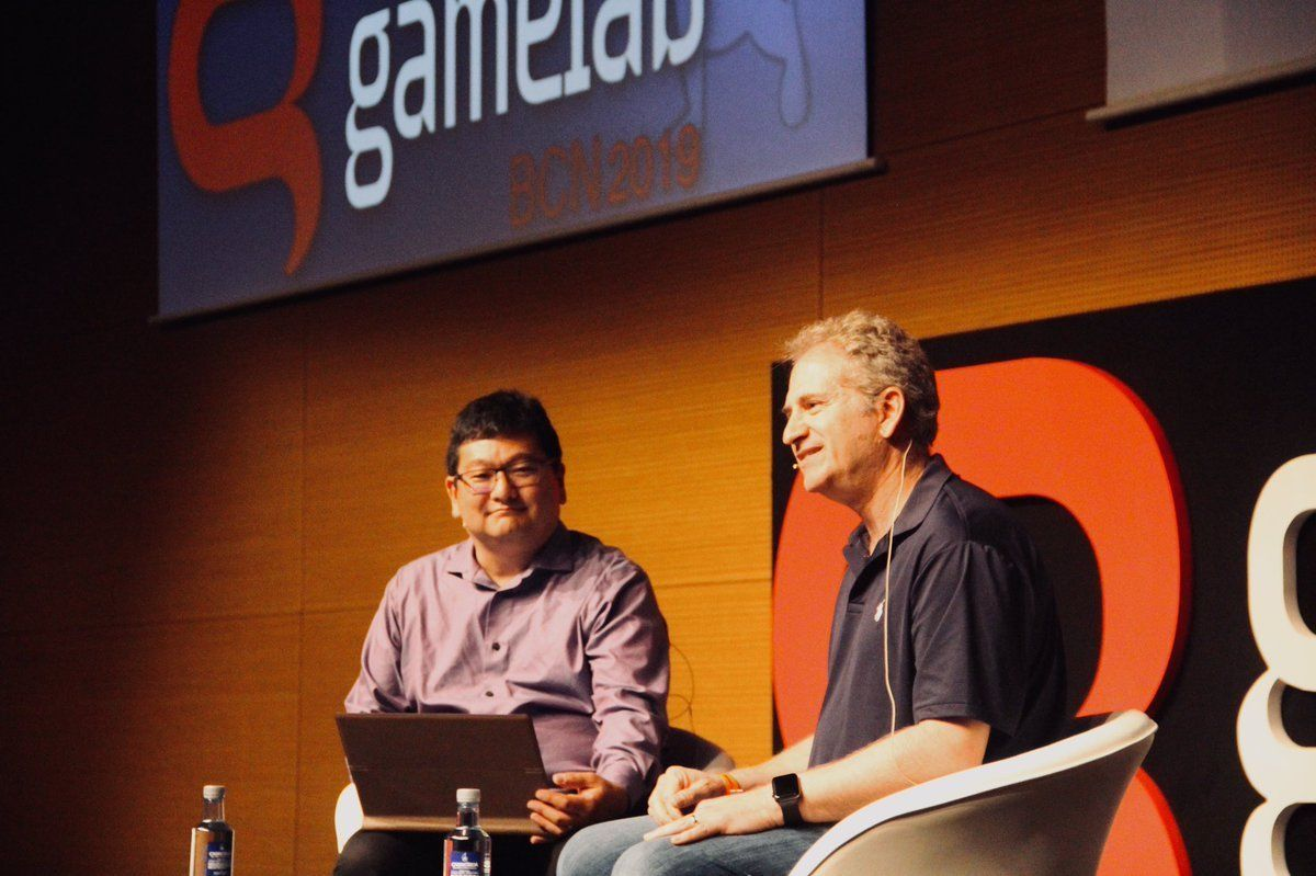 Mike Morhaime, cofounder of Blizzard, received the Honor Award in Gamelab