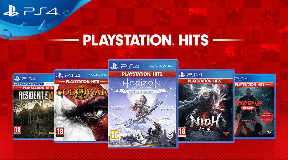 new Available games on PlayStation Hits for 19,99 €