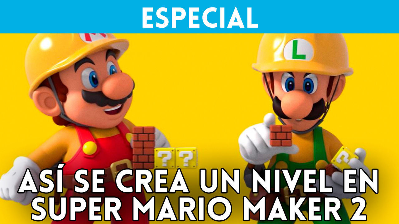 Super Mario Maker 2: it creates a level between 2 players
