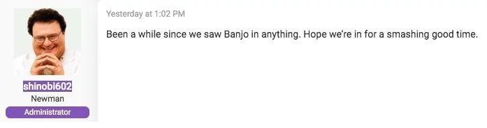 Rumor: Banjo-Kazooie could get to Super Smash Bros. Ultimate