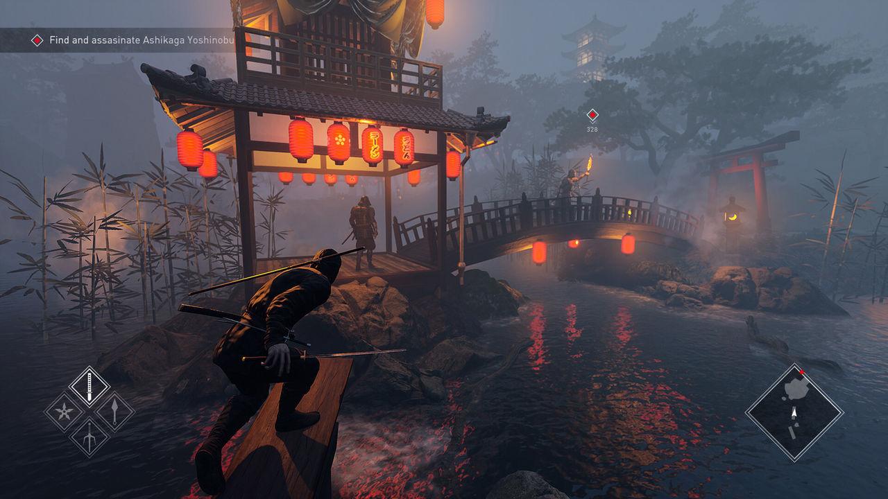 Kündigte Ninja-Simulator, ein Spiel von Aktion, stealth-und Attentats-PC