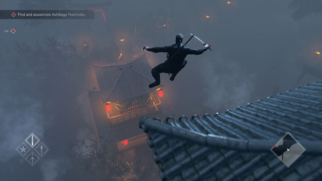 Kündigte Ninja-Simulator, ein Spiel von action -, stealth -, und das Attentat auf den PC