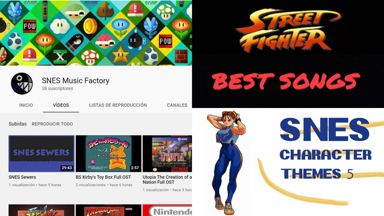 SNES Music Factory, el nuevo canal de YouTube que recopila música de Super Nintendo