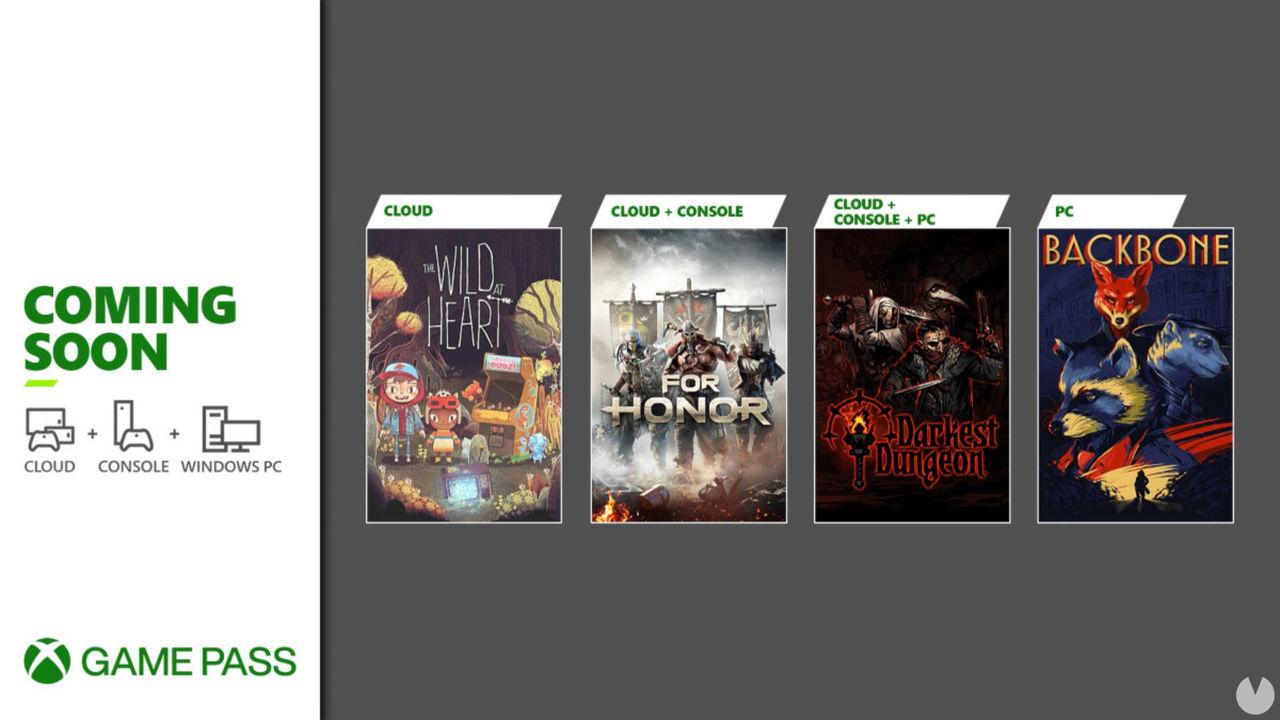 Xbox Game Pass recibirá For Honor, Backbone, Darkest Dungeon y The Wild at Heart
