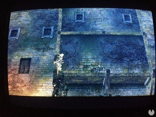 Dark Souls funcionando en un monitor CRT.